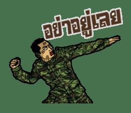Thai Army Upgrade sticker #8850368