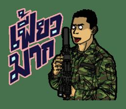 Thai Army Upgrade sticker #8850369