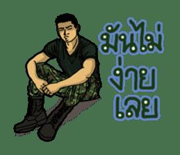 Thai Army Upgrade sticker #8850372