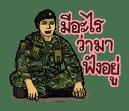 Thai Army Upgrade sticker #8850376