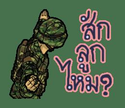 Thai Army Upgrade sticker #8850378