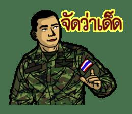 Thai Army Upgrade sticker #8850380
