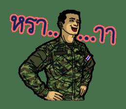 Thai Army Upgrade sticker #8850382