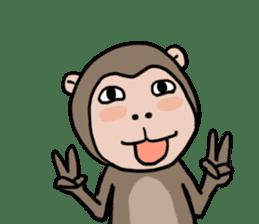 2016 Happy monkey year sticker #8866165