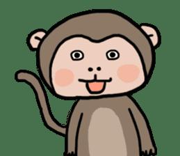 2016 Happy monkey year sticker #8866166
