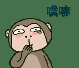 2016 Happy monkey year sticker #8866167