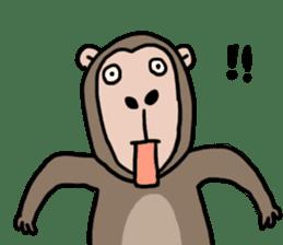 2016 Happy monkey year sticker #8866172