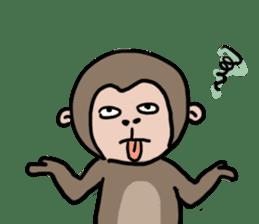 2016 Happy monkey year sticker #8866173