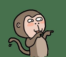 2016 Happy monkey year sticker #8866175