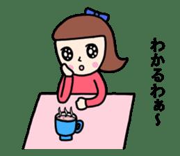 Wakako sister sticker #8870554