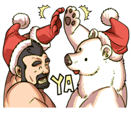 UBEARS vol.X~xmas bear sticker #8872226