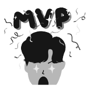 สติ๊กเกอร์ไลน์ THE MVP GAMER