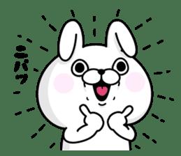 Rabbit100% daily use sticker #8876738