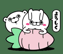 Rabbit100% daily use sticker #8876746
