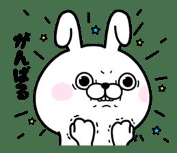 Rabbit100% daily use sticker #8876749