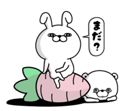 Rabbit100% daily use sticker #8876763