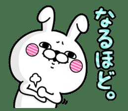 Rabbit100% daily use sticker #8876772