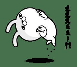 Rabbit100% daily use sticker #8876774