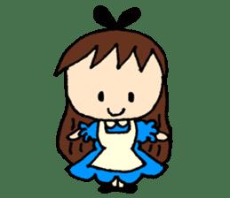 Alice in Wonderland sticker #8880936