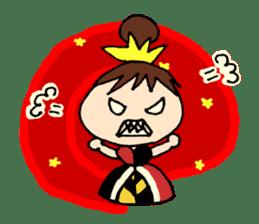 Alice in Wonderland sticker #8880943