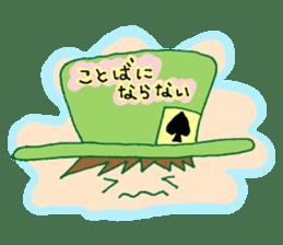 Alice in Wonderland sticker #8880944