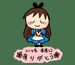 Alice in Wonderland sticker #8880952