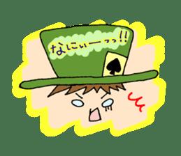 Alice in Wonderland sticker #8880969
