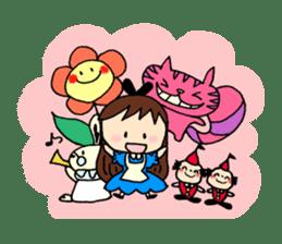 Alice in Wonderland sticker #8880972