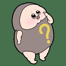 Plump plump! Mamdan-kun 3 sticker #8884064