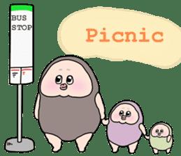 Plump plump! Mamdan-kun 3 sticker #8884070