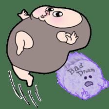 Plump plump! Mamdan-kun 3 sticker #8884073