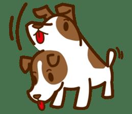 LOVE Jack Russell Terrier sticker #8892946