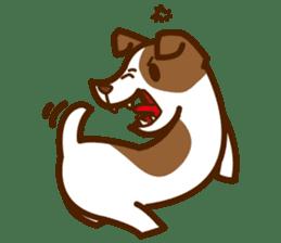LOVE Jack Russell Terrier sticker #8892949