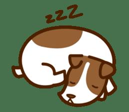 LOVE Jack Russell Terrier sticker #8892951
