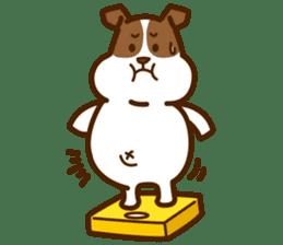 LOVE Jack Russell Terrier sticker #8892954