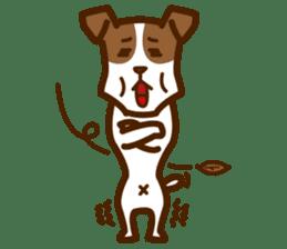 LOVE Jack Russell Terrier sticker #8892955