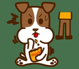 LOVE Jack Russell Terrier sticker #8892959