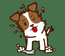LOVE Jack Russell Terrier sticker #8892965