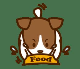 LOVE Jack Russell Terrier sticker #8892966