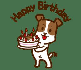 LOVE Jack Russell Terrier sticker #8892970