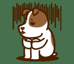 LOVE Jack Russell Terrier sticker #8892971