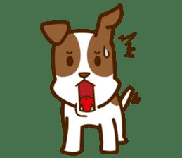 LOVE Jack Russell Terrier sticker #8892974