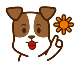 LOVE Jack Russell Terrier sticker #8892976