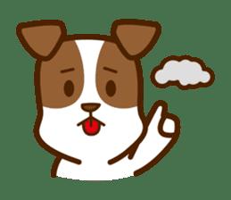 LOVE Jack Russell Terrier sticker #8892977