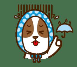 LOVE Jack Russell Terrier sticker #8892978