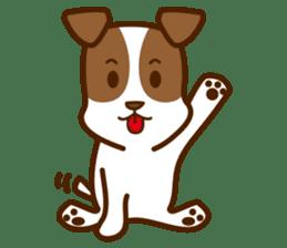 LOVE Jack Russell Terrier sticker #8892980