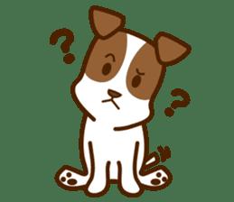 LOVE Jack Russell Terrier sticker #8892981