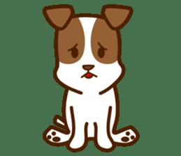 LOVE Jack Russell Terrier sticker #8892982