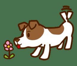 LOVE Jack Russell Terrier sticker #8892983