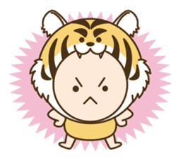 "Happy New Year! Cute animal ""zodiac"" sticker #8896230"
